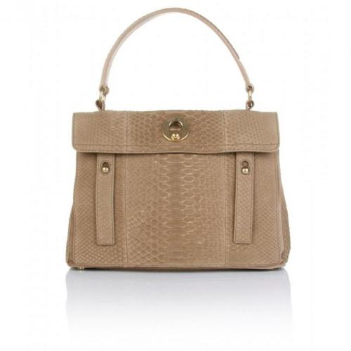 Yves Saint Laurent Medium Muse Two Python Tasche