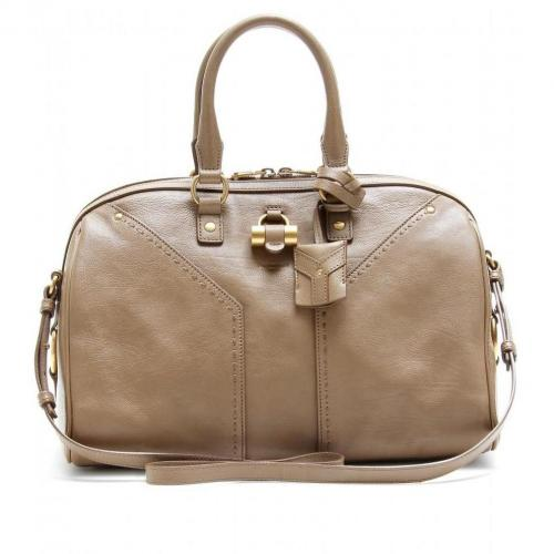 Yves Saint Laurent Muse Bowler Ledertasche