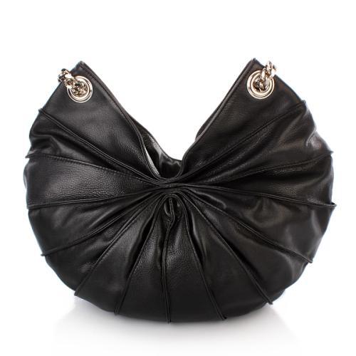 Kaviar Gauche Tasche Lamella Bag Semi Black/Silver