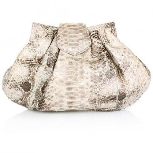 Desiree Lai Gypsy Python Bag Nature Silver