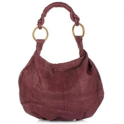Desiree Lai Ohio Python Bag Violet
