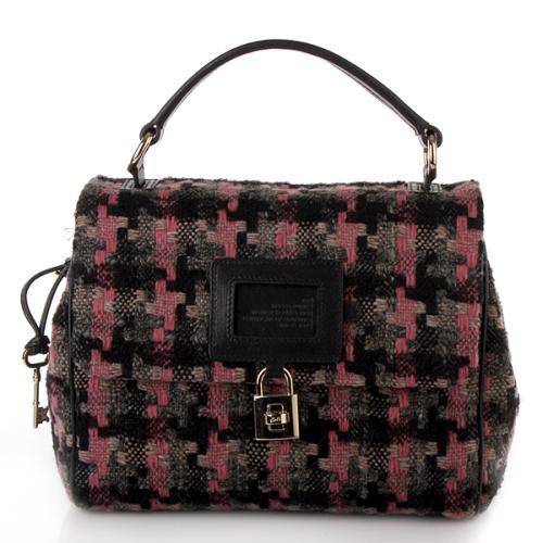 D&G Bag Dory Tweed Rosa/Grau
