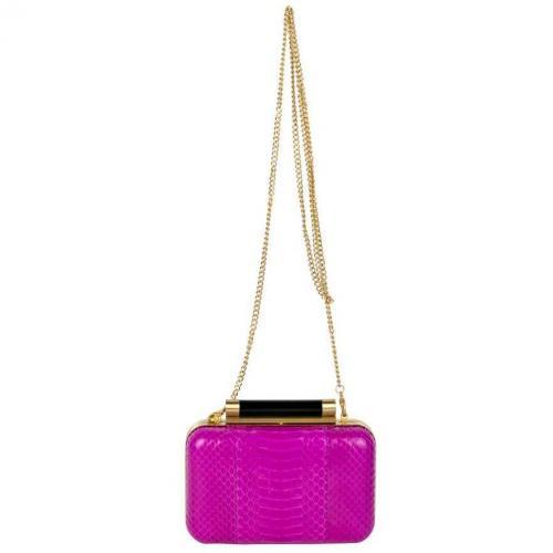 Diane von Furstenberg Box-Clutch Pink