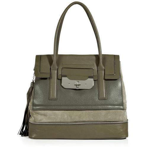 Diane von Furstenberg Camouflage Harper Laurel Shoulder Bag