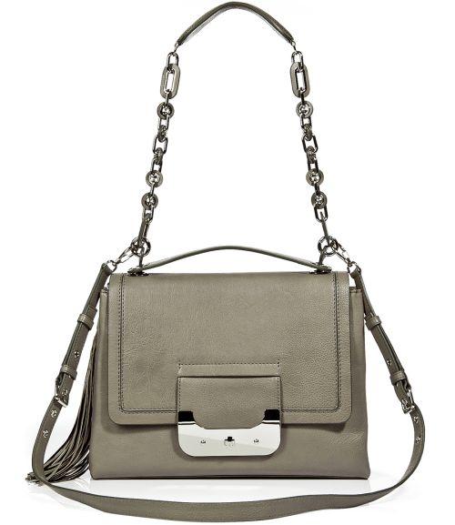 Diane von Furstenberg Harper Connect Tasche Medium Grau