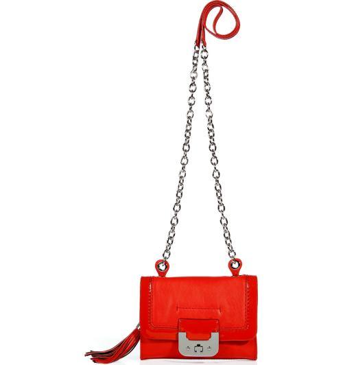 Mini Harper Tasche Rot DvF