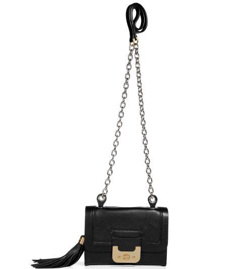 Diane von Furstenberg Schwarze Mini Harper Tasche