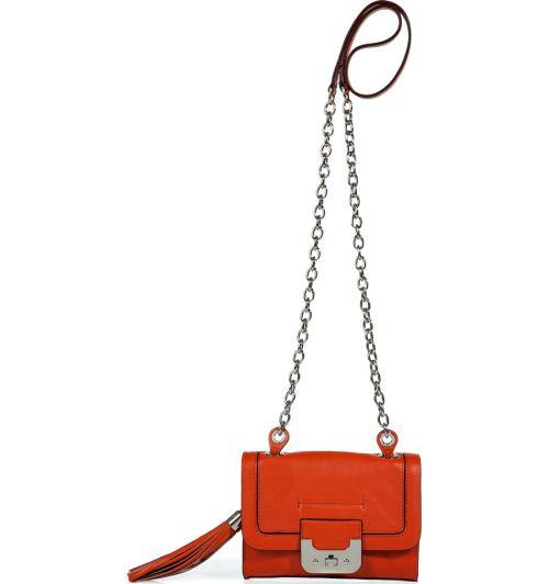 Diane von Furstenberg Persimmon Mini Harper Tasche