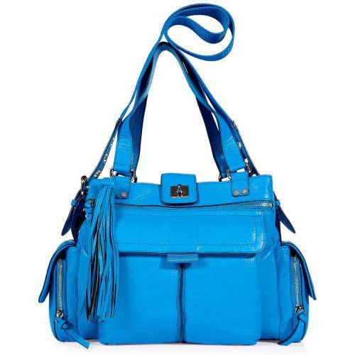 Diane von Furstenberg Handtasche Carryall Blau