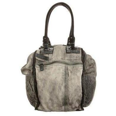 Diesel DIVINA Shopping bag silver birchblack