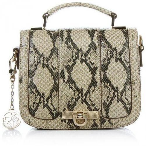 DKNY Beekman - Printed Snake W/Diamonti Mini D Women's Handbag Natura