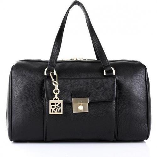 DKNY Crosby - Classic Lock Women's Handbag Black