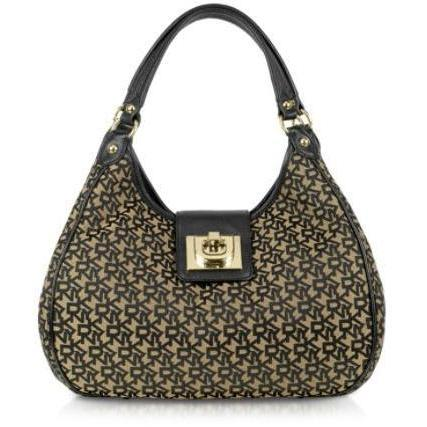 DKNY Heritage - Town & Country Hobotasche aus Canvas