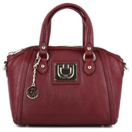 DKNY Heritage Vintage Leather Burgundy
