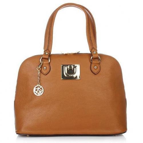 DKNY Heritage Vintage Leather Camel