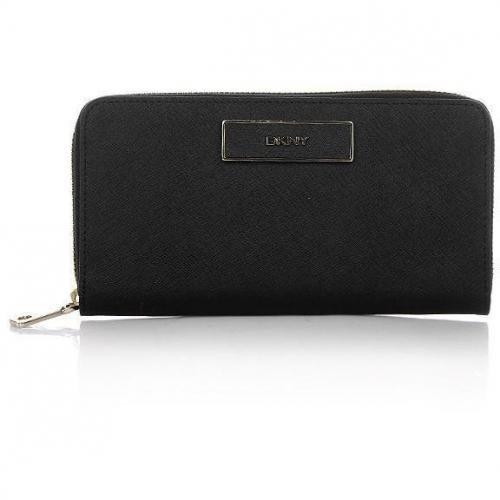 DKNY Saffiano Leather Black