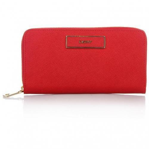 DKNY Saffiano Leather Red