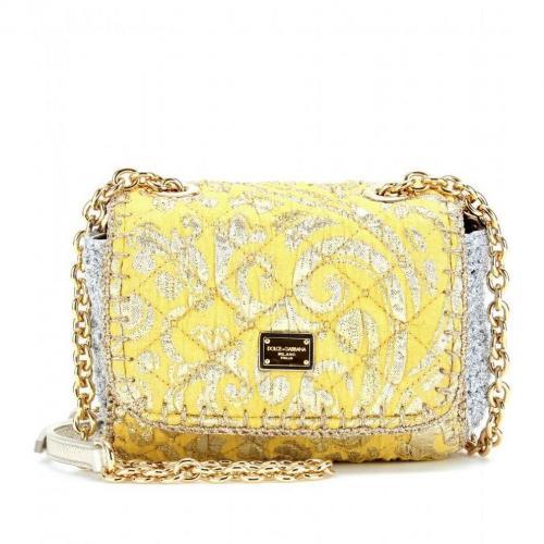 Dolce & Gabbana Gesteppte Jacquard-Schultertasche