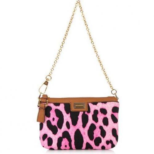 Dolce&Gabbana Mini Bags Olona Stampa Leo Pel Rosa