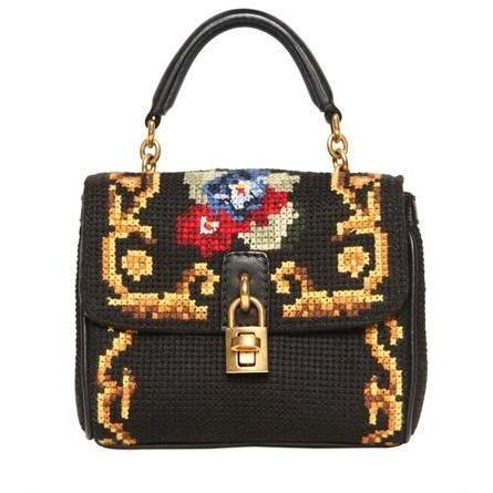 Dolce & Gabbana - Mini Dolce Naht Umhängetasche