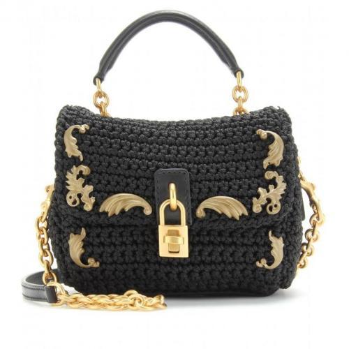 Dolce & Gabbana Mini-Häkeltasche