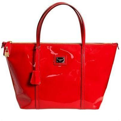 Dolce & Gabbana - Miss Escape Polished Leder Tasche