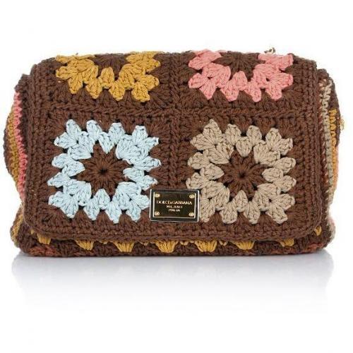 Dolce&Gabbana Shoulder Bag Crochet Colored