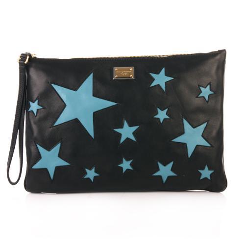 Dolce & Gabbana Tasche Pochette Sterne