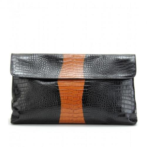Dries Van Noten Geprägte Xl-Clutch