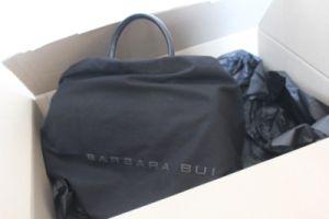 Barbara Bui Dude Bag verpackt