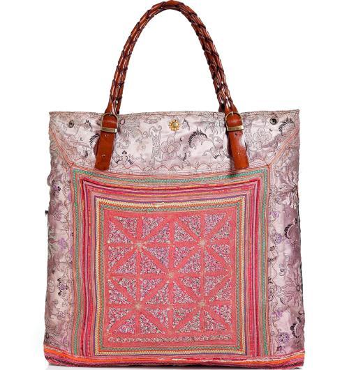 Elliot Mann Multicolor Patchwork Bag