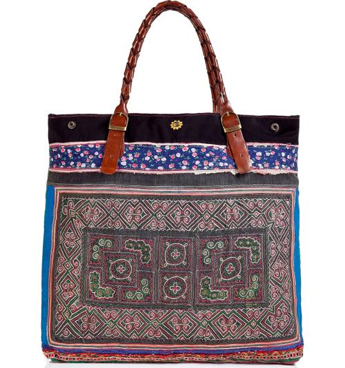 Elliot Mann Patchwork Bag Multicolor