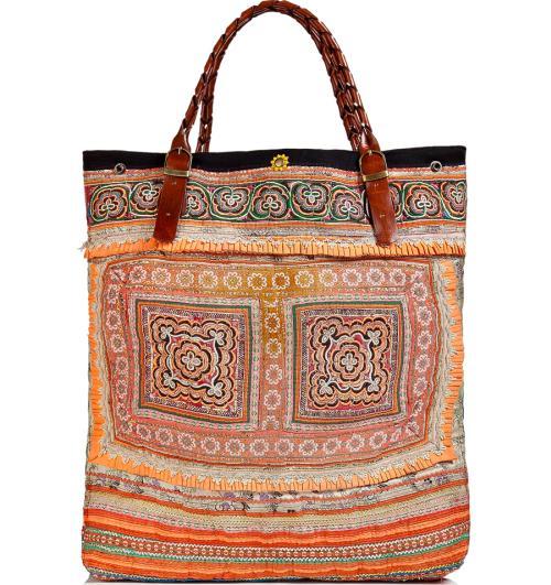 Elliot Mann Vintage Bag Multicolor Patchwork
