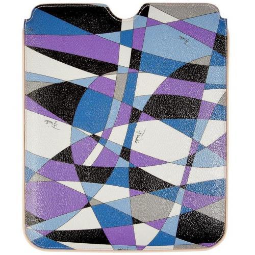Emilio Pucci Lavender/Black iPad Case