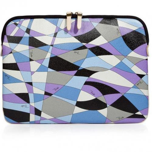 Emilio Pucci Lavender/Black Laptop Case
