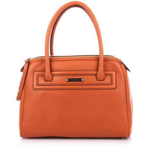 Escada Double Zipper Bag Orange