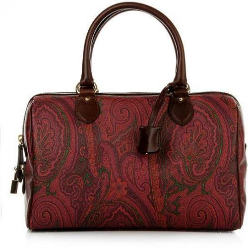 Etro Bauletto Autumn Red/Brown