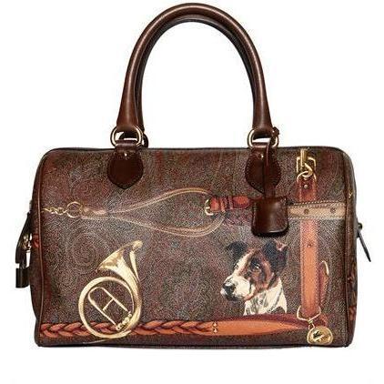 Etro - Paisley Hunting Pvc Handtasche