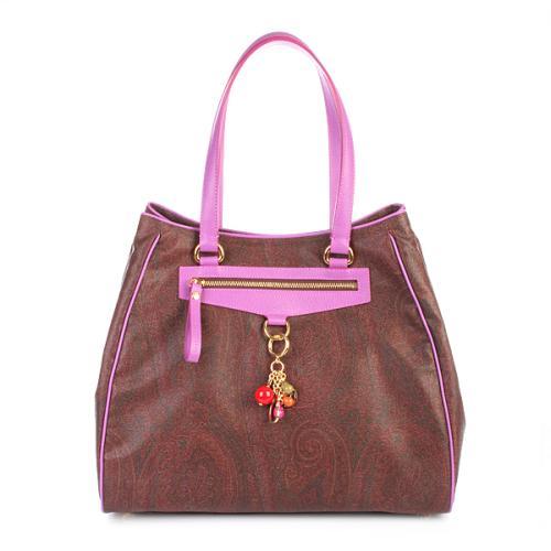 Etro Shopping Paisley Purple