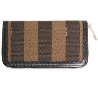 Fendi - Pique All Araound Zip Brieftasche
