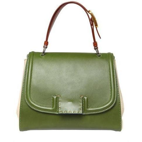 Fendi - Silvana Leder Handtasche