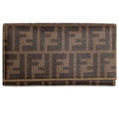 Fendi - Zucca Brieftasche