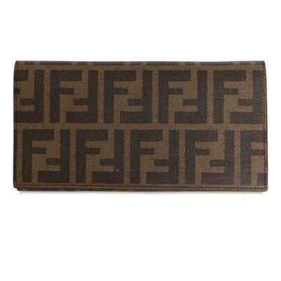 Fendi - Zucca Piu' Kalbsleder Brieftasche