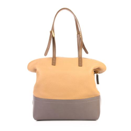 Fendi 2 Bag Cuoio Beige