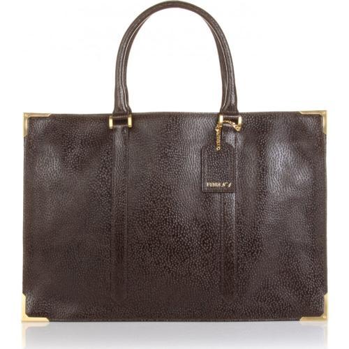 Fendi Classic Tasche Leder Braun