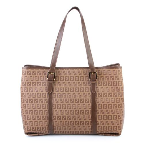 Fendi Shopper Grande Braun
