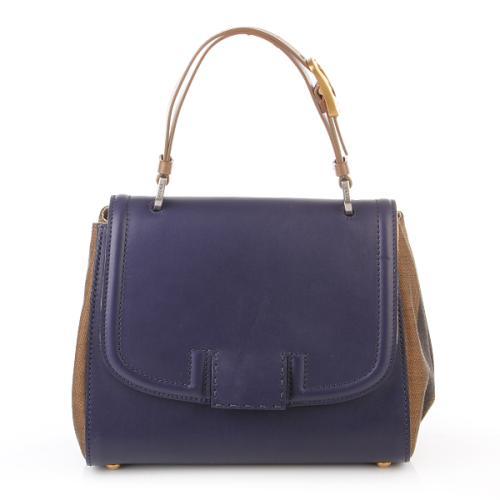 Fendi Silvana Bag Pequin Blue