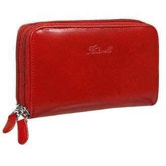 Fontanelli Brieftasche aus Kalbsleder mit Doppelreißverschluss