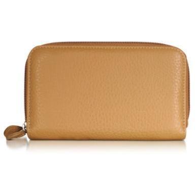 Fontanelli Brieftasche mit Rundum-Reißverschluss und Geoprint