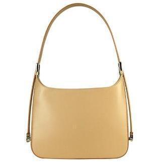 Fontanelli Klassische Handtasche aus italienischem Leder mit verstellbarem Tragriemen